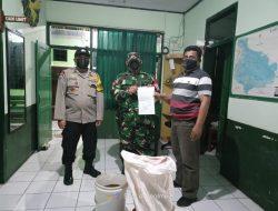 Campuran Amunisi Berbagai Kaliber dan 6 Buah Mortir Diserahkan ke Kodim Kuningan