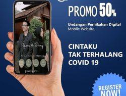 Undangan Nikah Online Ala Jadinikah.com, Hemat Waktu dan Biaya