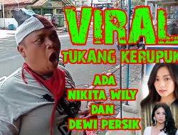 TUKANG KERUPUK VIRAL !!!