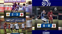 Hasil Pertandingan Pekan ke – 4 BRI Liga 1, PSM Makasar dan Tira Persikabo 1973 Sukses raih kemenangan dan Persib Bandung berbagi poin dengan Borneo FC,Kamis (23/09/2021)