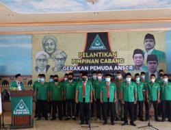 Dihadiri Bupati Kuningan, 27 Pengurus PC GP Ansor Dilantik