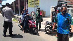 Petugas Gabungan Gelar Operasi Yustisi di Desa Baok