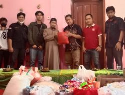 Mahasiswa FKOM Berbagi, Ratusan Paket Sembako Disebar di Ponpes Salafiyyatul Huda
