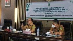 Sakerta Timur Terpilih Menjadi Desa Binaan P2W-KSS, Sekda : SKPD Harus Memberikan Dukungan