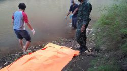 Mayat Tanpa Identitas Terapung di Sungai Cisande Mekarwangi