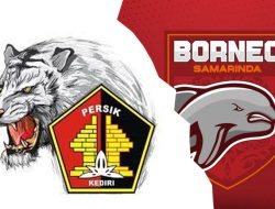 PERSIK vs BORNEO FC : Macan Putih menerkam Pesut Etam