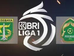 """Bajul Ijo "" Persebaya Surabaya Benamkan Tira Persikabo 3-1"