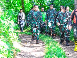 "Pangdam ""Ngetrail"" Temui Masyarakat di Kaki Gunung Tangkuban Perahu"