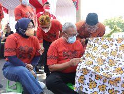 Wujud Pelestarian Batik, Dekranasda Gelar 'Coaching Clinic'