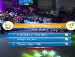 Luar Biasa! Kuningan Raih 4 Medali Emas PON XX Papua dari Cabang Angkat Berat
