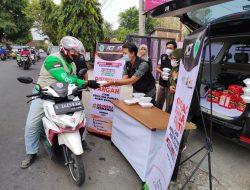 """Hidupkan Semangat Sedekah, ACT Kuningan Gelar Operasi Makan Gratis """"Samyang ACT"""""""