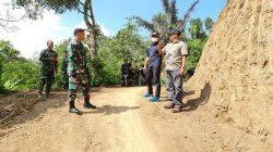 Dandim David Wujudkan Impian Warga, Buka Akses Jalan di Gunung Aci Subang