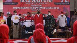 Turnamen Voli se-Kabupaten Kuningan Dibuka Wabup