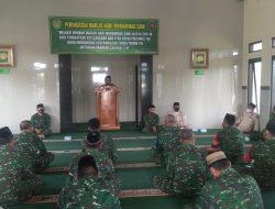 Peringati Maulid Nabi Muhammad SAW 1443 H, Kodim 0615/Kuningan Gelar Tausiyah